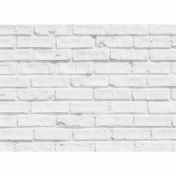 Home décor Line White Bricks Kitchen Panel Wall Decal