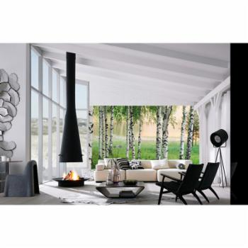 Ideal Decor Nordic Forest Wall Mural