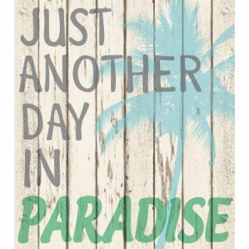 WallPops Paradise Wall Quote