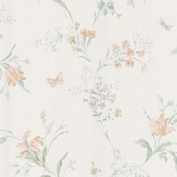 Mirage Sweet Pea Butterfly Floral Trail Wallpaper