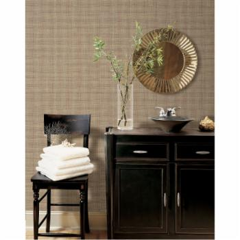Brewster David Basket Weave Texture Wallpaper