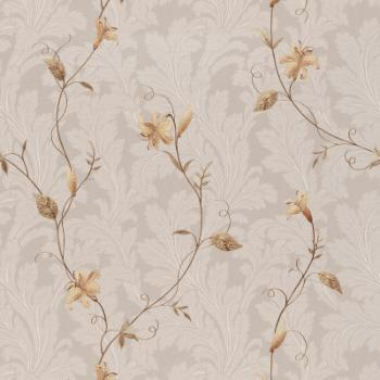 Beacon House Lancia Floral Scroll Wallpaper