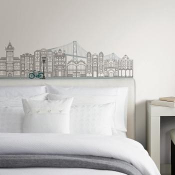 Wall Pops Globe Trotter Small Wall Decal Kit