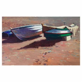 John Beard Collection Shore Leave Print on Giclee Canvas
