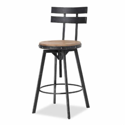 Cool Distressed Industrial Style Bar Stools And Counter Stools Pabps2019 Chair Design Images Pabps2019Com