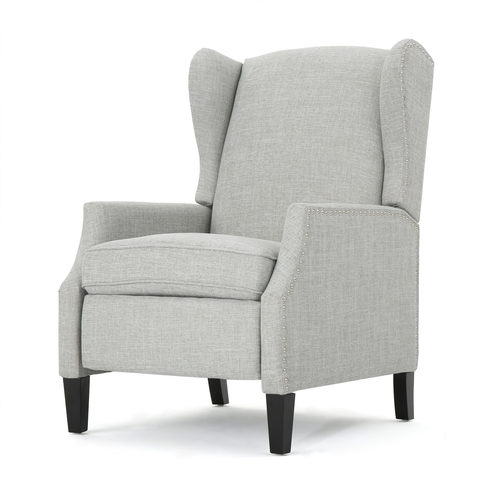 Prescott Traditional Tweed Fabric Recliner
