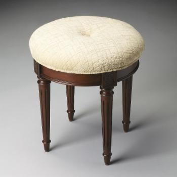 Butler Vanity Stool - Plantation Cherry