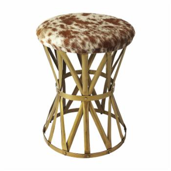 Butler Specialty Parker Hair-On-Hide Stool