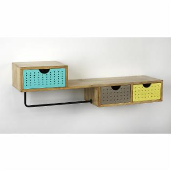 Butler Specialty Motley Modern Storage Wall Shelf