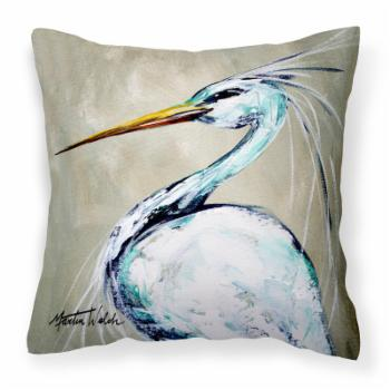 Caroline's Treasures Blue Heron Smittys Brother Decorative Outdoor Pillow