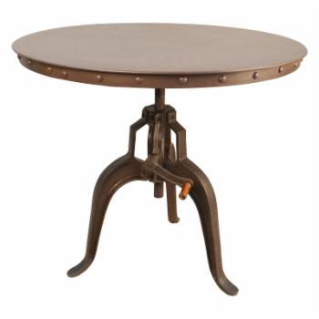 Carolina August Crank Casual Dining Table