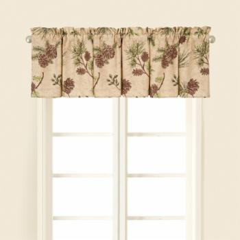 C&F Home Woodland Retreat Tailored Valance - Set of 2