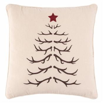 C&F Home Antler Tree Decorative Throw Pillow