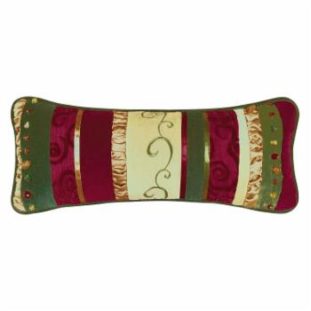 C&F Home Holiday Treasures Pieced Decorative Throw Pillow