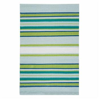 C&F Home Mirage Woven Green Indoor Door Mat
