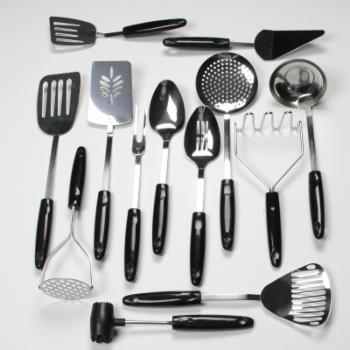 Chef Craft Select Stainless Steel Kitchen Tool 13 Piece Set