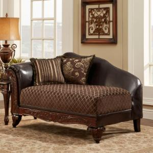 Chelsea Home Amelia Upholstered Chaise