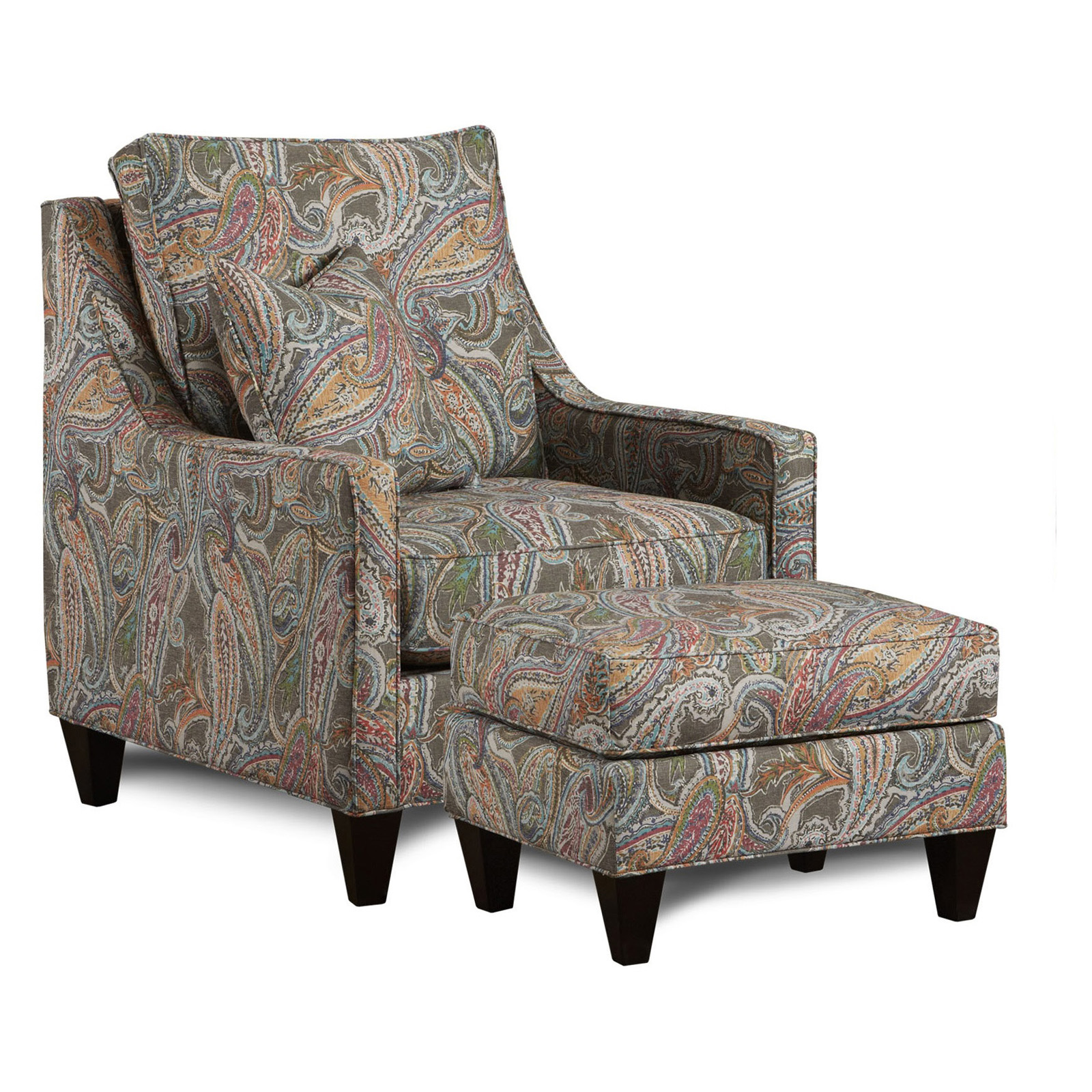 Chelsea Home Furniture Drury Paisley Night Club Chair