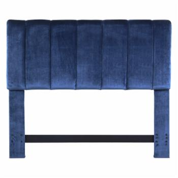 Chic Home Anwar Velvet Upholstered Headboard