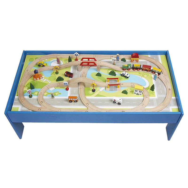 sc 1 st  Hayneedle & CHH Train Table with Train Set | Hayneedle