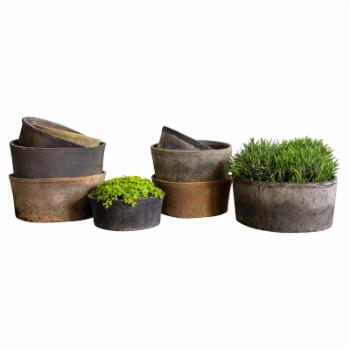 Campania International Farmers Low Cylinder Planter - Set of 18