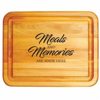 Catskill Craftsmen Meals and Memories Grooved Cutting Board