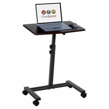 OneSpace Adjustable Mobile Laptop Computer Cart