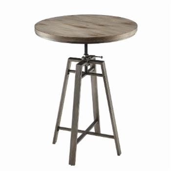 Coaster Furniture Swivel Adjustable Bar Table