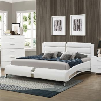 Coaster Furniture Felicity Upholstered Panel Queen Bed