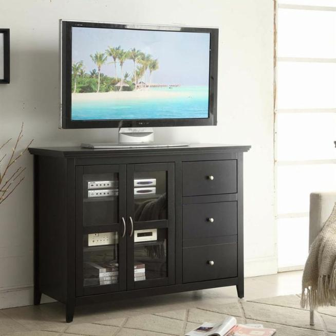 Convenience Concepts Sierra Highboy Tv Stand Hayneedle