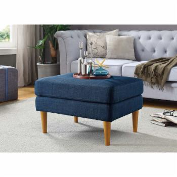 Convenience Concepts Designs4Comfort Marlow Mid Century Ottoman