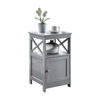 Convenience Concepts Oxford End Table with Cabinet