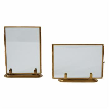 3R Studios Glass Photo Frame with Stand