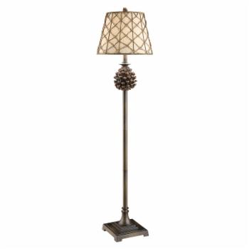 Crestview Collection Pine Bluff Floor Lamp