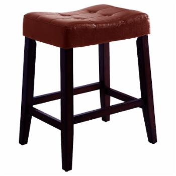 Crown Mark Kent 29 in. Backless Bar Stool - Set of 2