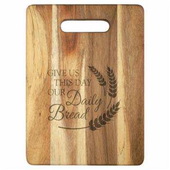 Carson Home Accents Daily Bread Cutting Board