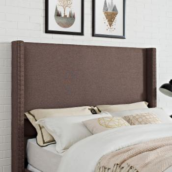Crosley Casey Upholstered Wingback Headboard
