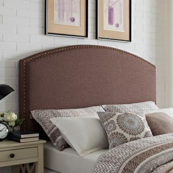 Crosley Cassie Curved Upholstered Headboard