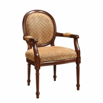 Padded Round Back Chair