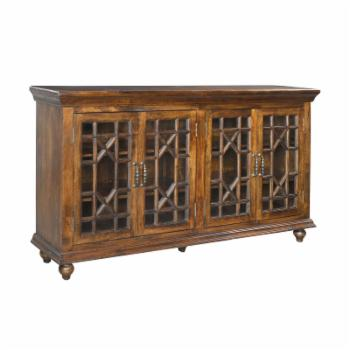 Coast to Coast Chippendale 4 Door Credenza