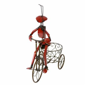 Rustic Arrow Ant On Tricycle Planter
