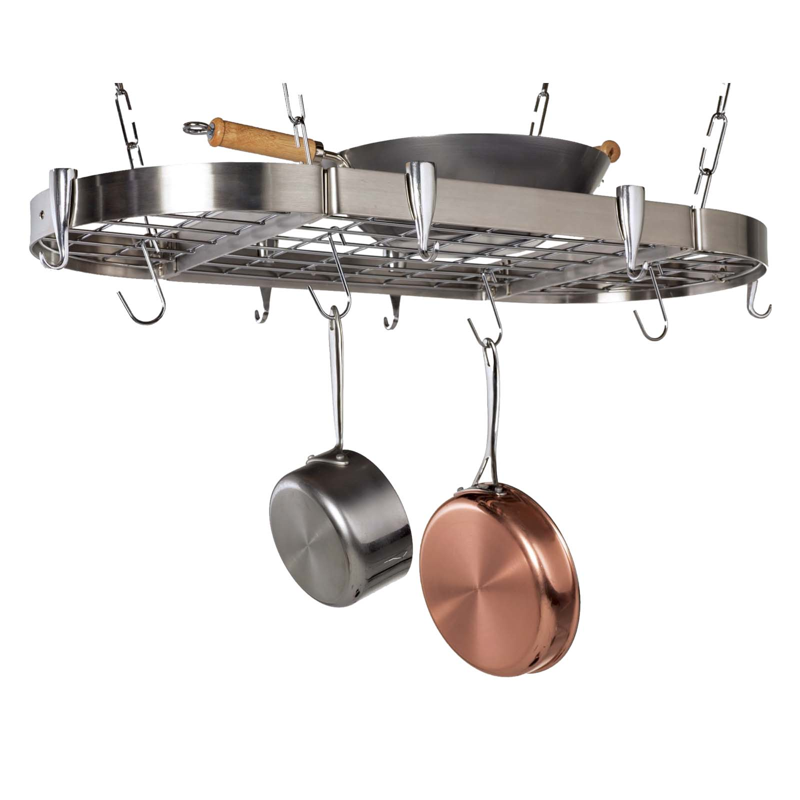 product cookware ret tier rack pan stand cws steel hammered enclume dressed