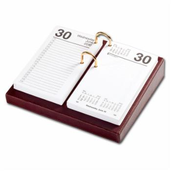 Dacasso Leather Calendar Holder