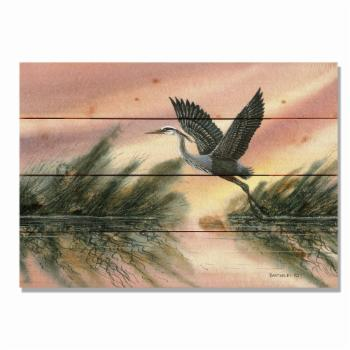 Daydream Bartholets Cool Of The Morning Indoor / Outdoor Cedar Panel Wall Art
