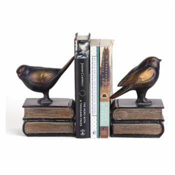 Danya B Birds on Books Bookend - Set of 2