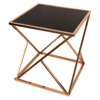 Danya B Rose Gold End Table