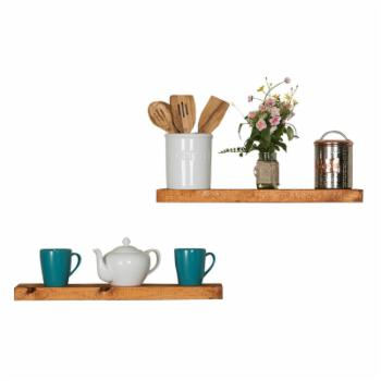 Del Hutson True Floating Shelf - Set of 2