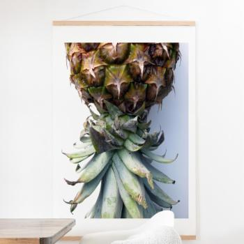 Deny Designs Pineapple 2 Wall Scroll