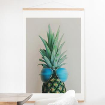 Deny Designs Pineapple In Paradise Wall Scroll