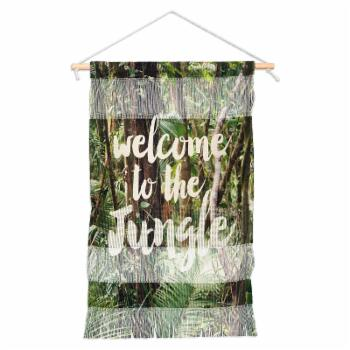 Deny Designs Welcome to the Jungle Wall Hanging